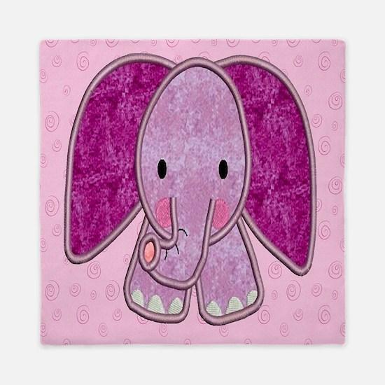 Purple Elephant Queen Duvet