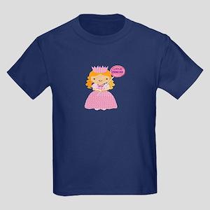 Little Princess Kids Dark T-Shirt