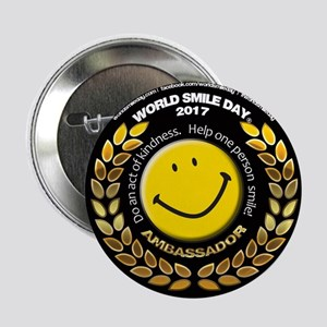 "World Smile Day Ambassador 2.25"" Button"