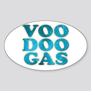 VooDoo Gas Oval Sticker