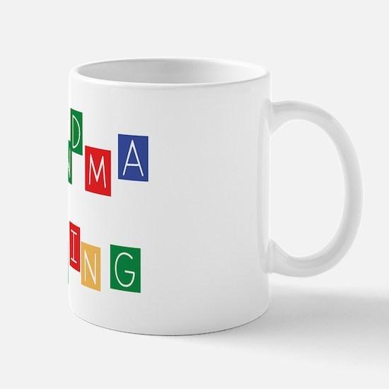 New Grandma In Training Mug