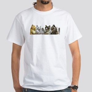 Many Flapcats White T-Shirt