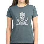 Klingon Skull and Bat'leths Women's Dark T-Shirt