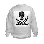 Klingon Skull and Bat'leths Kids Sweatshirt