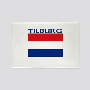 Tilburg, Netherlands Rectangle Magnet