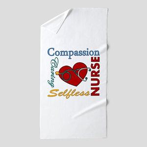 Nurse Beach Towel