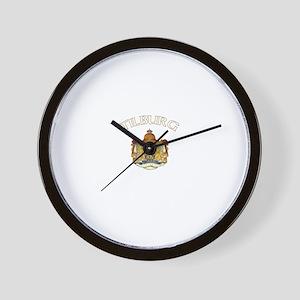 Tilburg, Netherlands Wall Clock