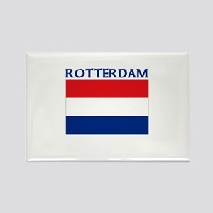Rotterdam, Netherlands Rectangle Magnet