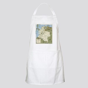 Politic map Colombia BBQ Apron