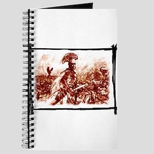 Roman Centurion in battle Journal
