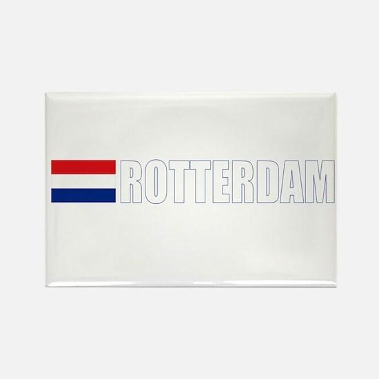Rotterdam, Netherlands Rectangle Magnet