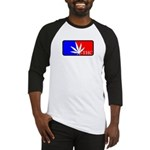 weed sports logo Baseball Jersey
