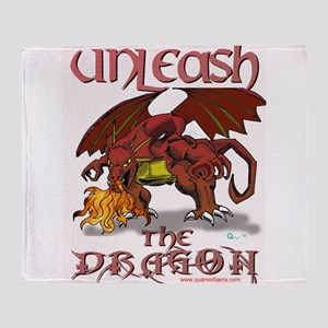 Unleash The Dragon Throw Blanket