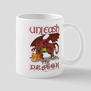 Unleash The Dragon Mugs