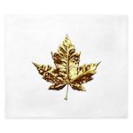Gold Canada Souvenir King Duvet