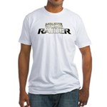 Womb Raider Fitted T-Shirt