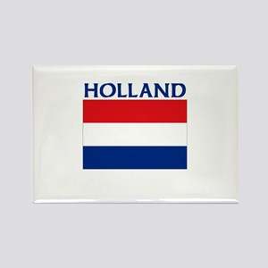 Holland Flag Rectangle Magnet