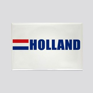 Holland Flag II Rectangle Magnet