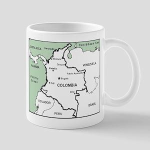 Mapa de Colombia Mug