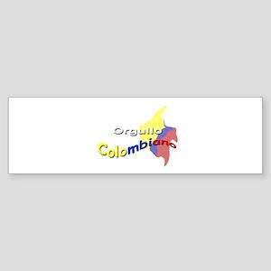 Colombian pride Bumper Sticker