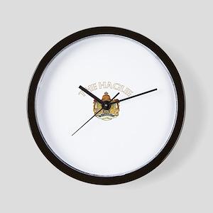 The Hague, Netherlands Wall Clock
