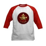 Gold Canada Souvenir Baseball Jersey