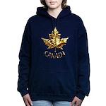 Gold Canada Souvenir Women's Hooded Sweatshirt