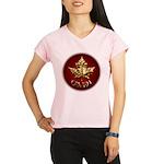 Gold Canada Souvenir Performance Dry T-Shirt