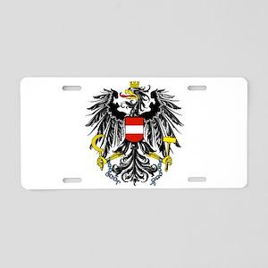 Austria Coat of Arms Aluminum License Plate