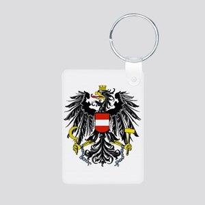 Austria Coat Of Arms Aluminum Photo Keychains