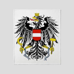 Austria Coat of Arms Throw Blanket