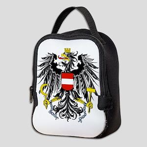 Austria Coat of Arms Neoprene Lunch Bag