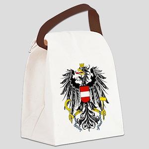 Austria Coat of Arms Canvas Lunch Bag