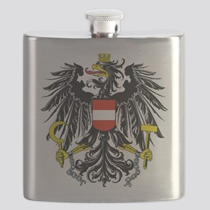 Austria Coat of Arms Flask