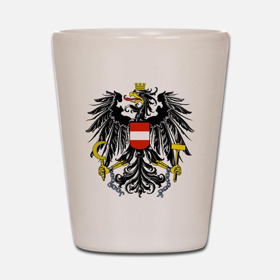 Austria Coat of Arms Shot Glass