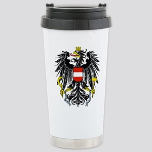 Austria Coat of Arms Stainless Steel Travel Mug