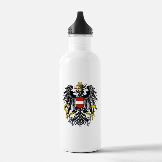 Austria Coat of Arms Water Bottle