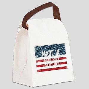Made in Punxsutawney, Pennsylvani Canvas Lunch Bag
