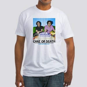 Cake or Death Fitted T-Shirt