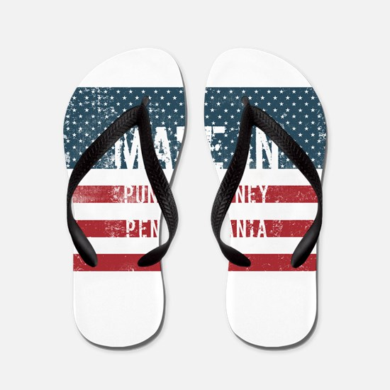 Made in Punxsutawney, Pennsylvania Flip Flops