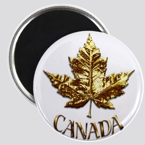 Gold Canada Souvenir Magnets
