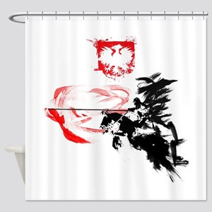 Polish Hussar Shower Curtain