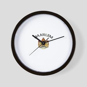 Haarlem, Netherlands Wall Clock
