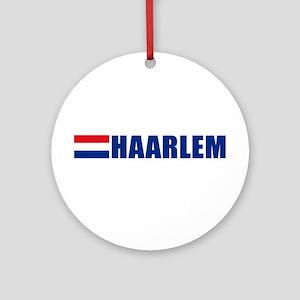 Haarlem, Netherlands Ornament (Round)