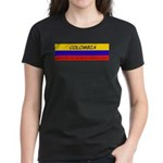 Colombia somewhere Women's Dark T-Shirt