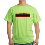 Colombia somewhere Green T-Shirt