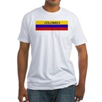 Colombia somewhere Fitted T-Shirt