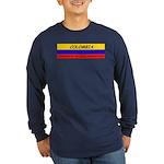 Colombia somewhere Long Sleeve Dark T-Shirt