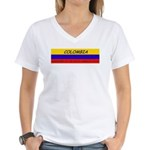Colombia somewhere Women's V-Neck T-Shirt