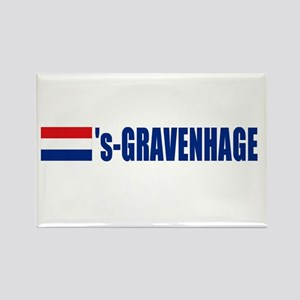 's-Gravenhage, Netherlands Rectangle Magnet